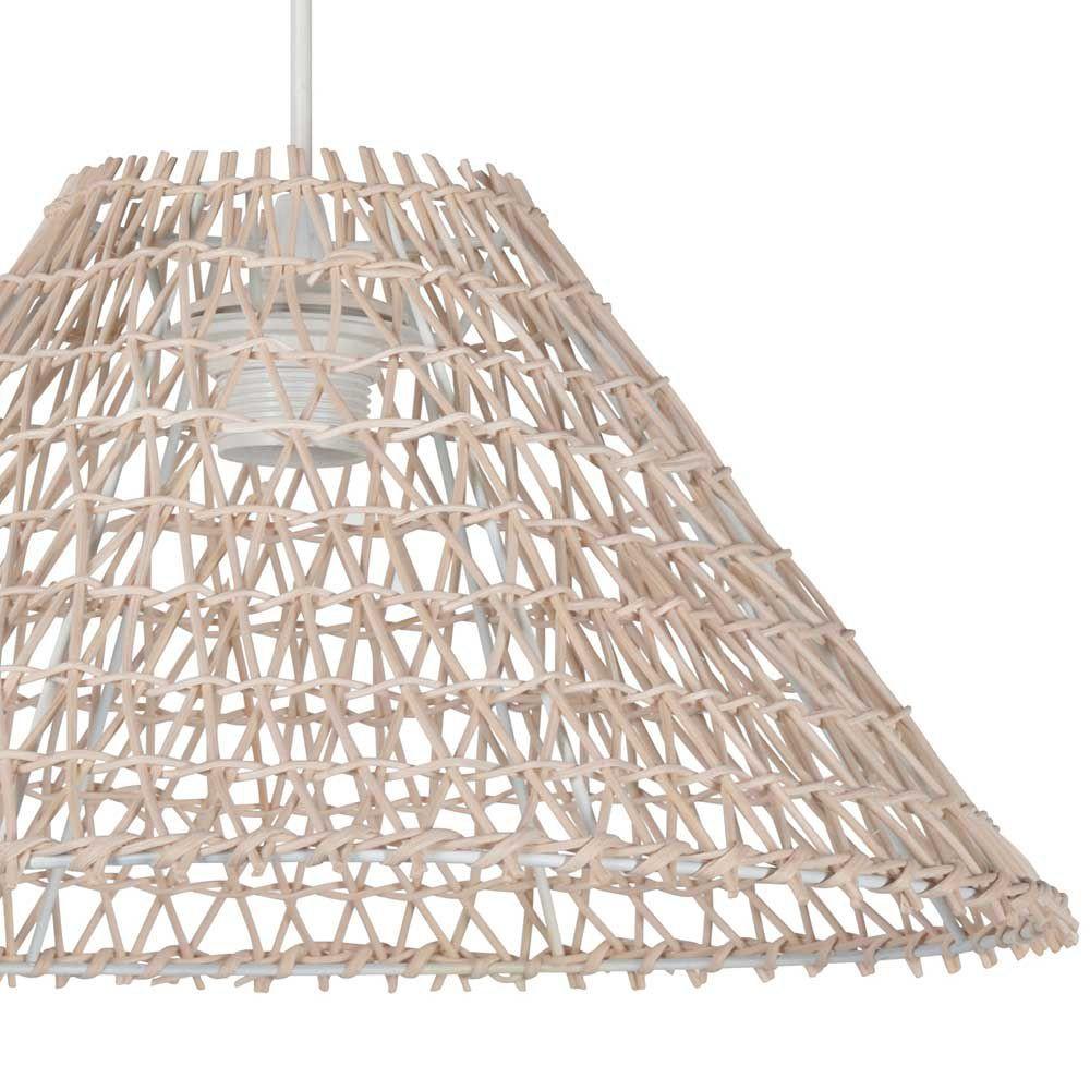 luminaire naturel en rotin. Black Bedroom Furniture Sets. Home Design Ideas