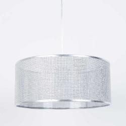 Lampe plafond métal et strass