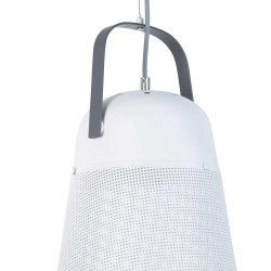 Suspension blanche orientable