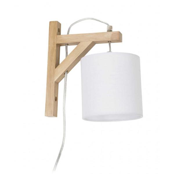 Petite Lampe De Chevet Mural Blanche