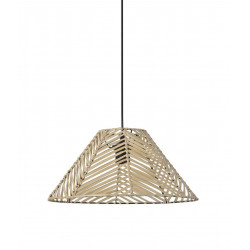 Suspension marron luminaires en vente sur lampe avenue - Suspension en rotin tresse ...