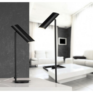 Lampadaire design noir Faro