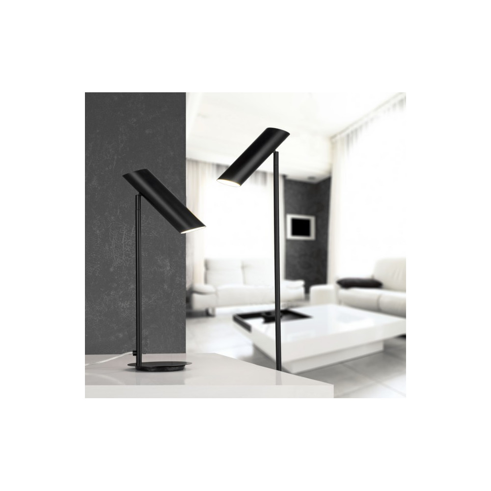 lampadaire design noir luminaire design faro. Black Bedroom Furniture Sets. Home Design Ideas