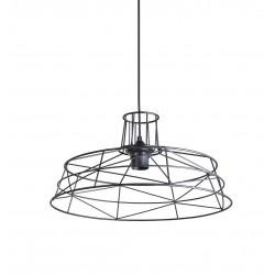 Luminaire industriel filaire noir