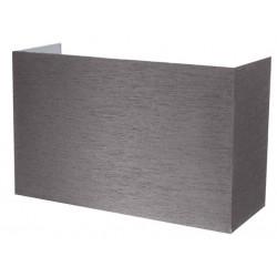 Applique coton grise