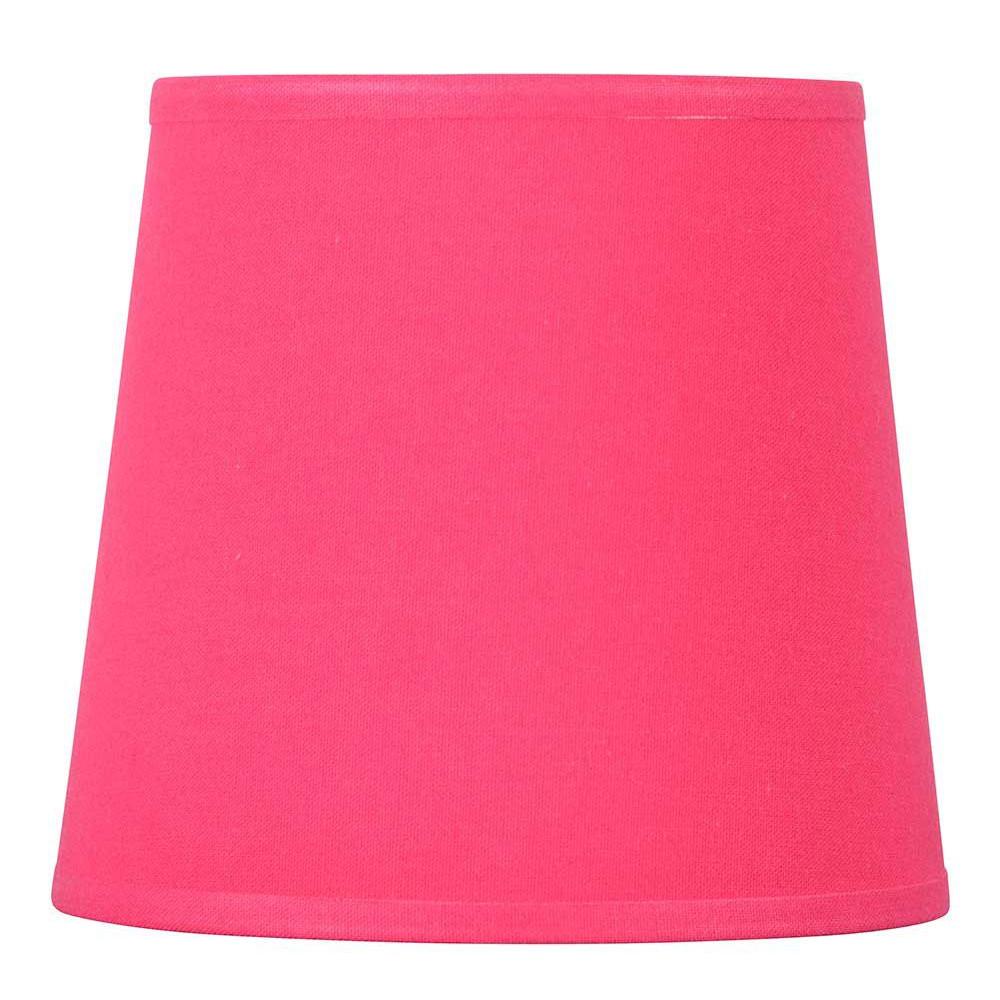 abat jour conique rose framboise en coton lampe avenue. Black Bedroom Furniture Sets. Home Design Ideas