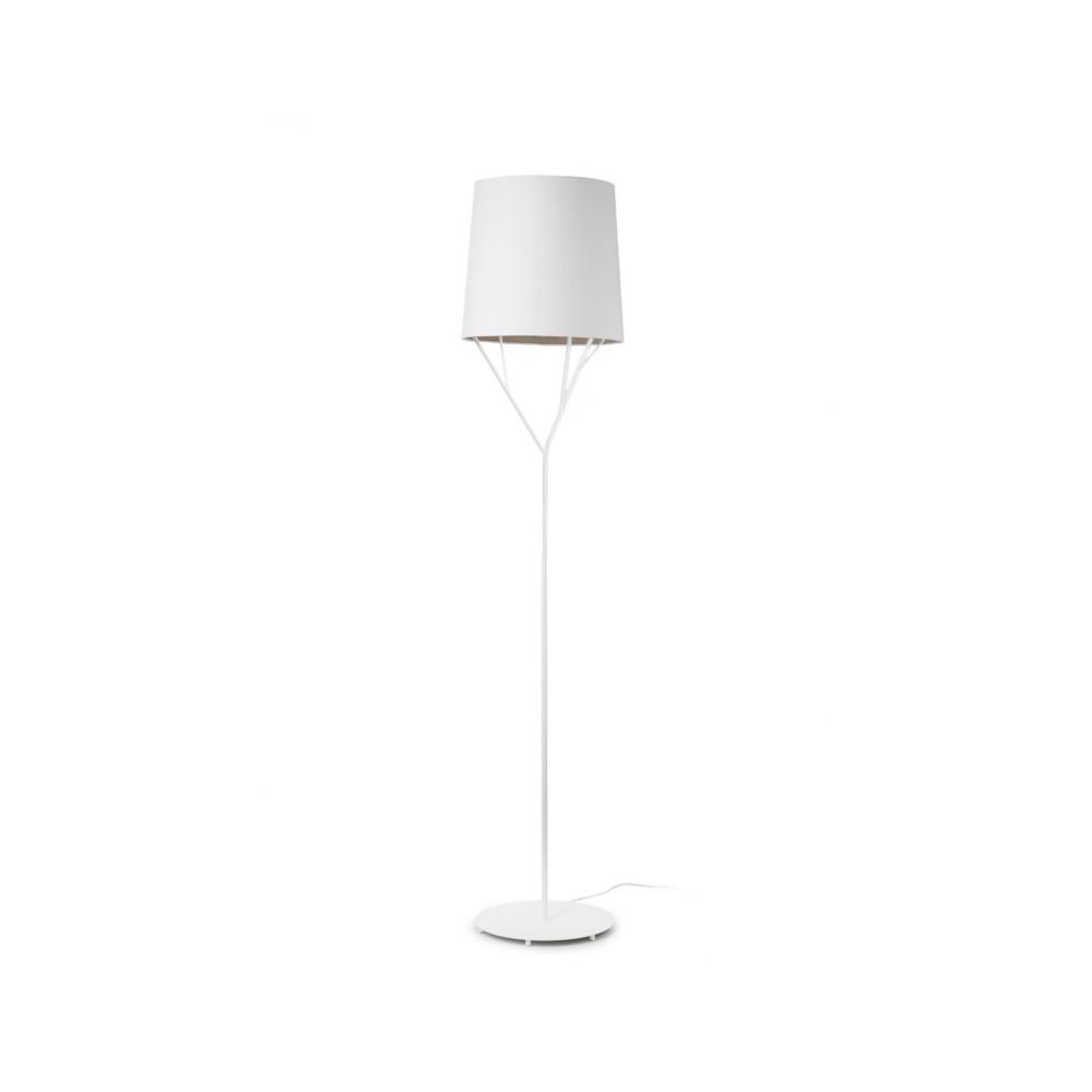 Lampadaire design abat jour blanc luminaire design blanc - Abat jour design ...