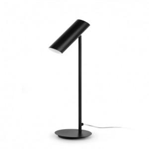 Lampe design noire Faro