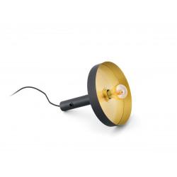 Baladeuse design noire et or