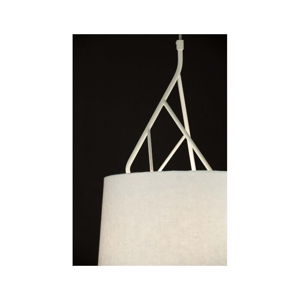 Suspension Design Abat Jour Blanc Luminaire Design Blanc
