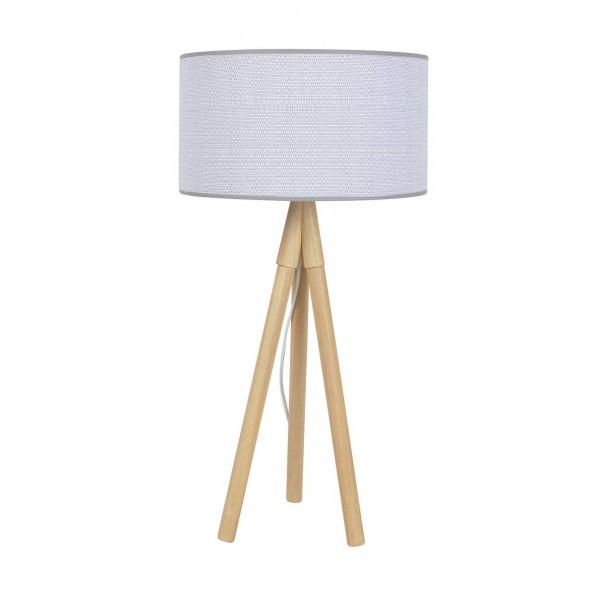 lampe haute tr pied bois naturel. Black Bedroom Furniture Sets. Home Design Ideas