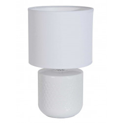 Lampe blanche en céramique