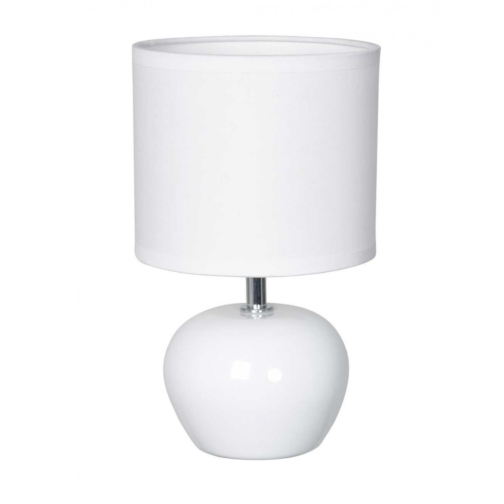 Lampe A Poser Blanche Ceramique