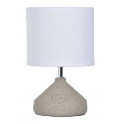 Lampe céramique aspect brut