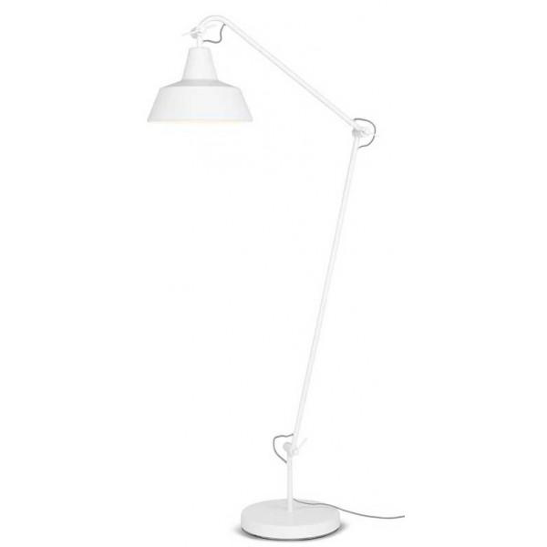 Lampadaire Lampadaire Blanc Articulé Métal Articulé Blanc Articulé Métal Lampadaire Métal PiukXZ