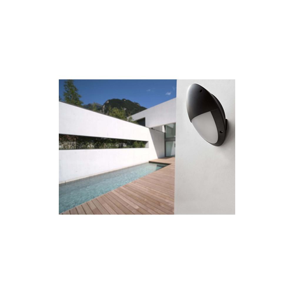 applique ext rieur noire et blanche luminaire exterieur faro. Black Bedroom Furniture Sets. Home Design Ideas