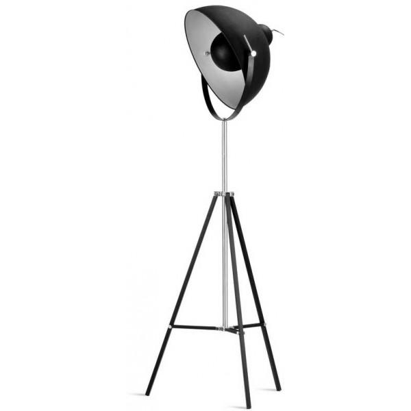 lampadaire noir tr pied studio de cin ma. Black Bedroom Furniture Sets. Home Design Ideas