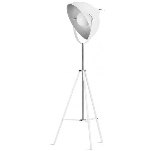 lampadaire tr pied blanc projecteur de cin ma. Black Bedroom Furniture Sets. Home Design Ideas