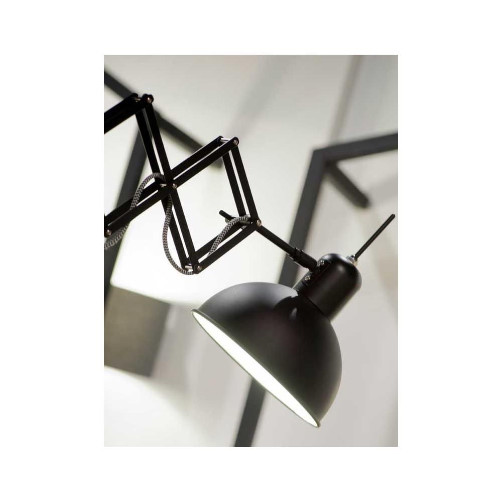 lampe murale noire bras extensible. Black Bedroom Furniture Sets. Home Design Ideas