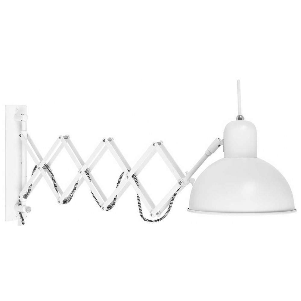 luminaire mural t lescopique blanc. Black Bedroom Furniture Sets. Home Design Ideas
