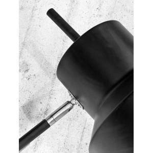 Applique métal noir orientable
