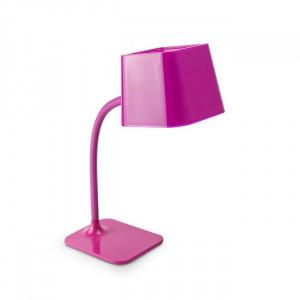 Lampe de table flexible rose fuchsia