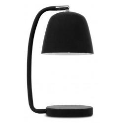 Lampe noire métal