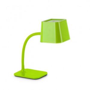 Lampe de table flexible verte Faro