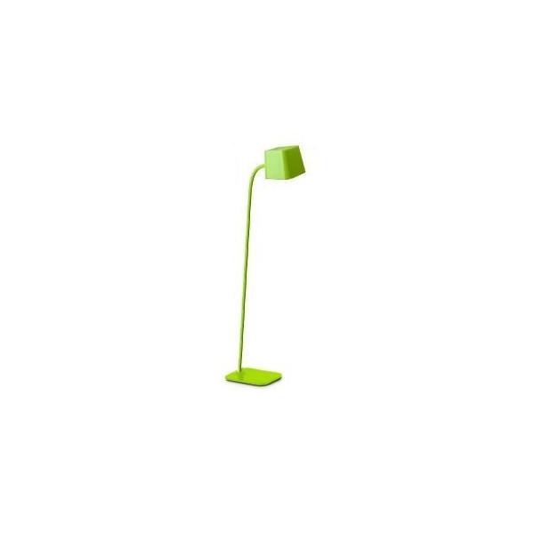 Lampadaire design flexible vert Faro