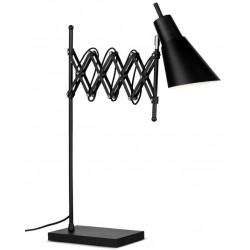 Lampe accordéon noire