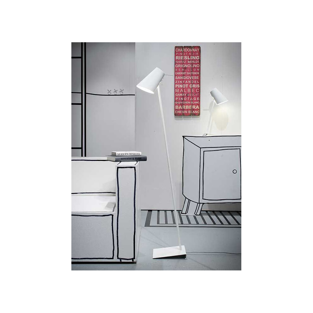 luminaire de bureau m tal blanc. Black Bedroom Furniture Sets. Home Design Ideas