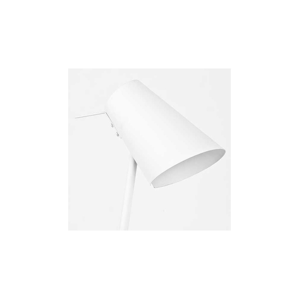 Luminaire de bureau m tal blanc - Lampe de bureau design ...