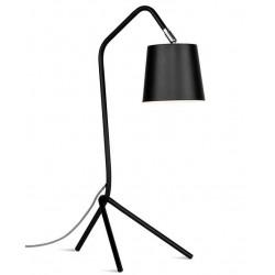 Lampe design noire Barcelona