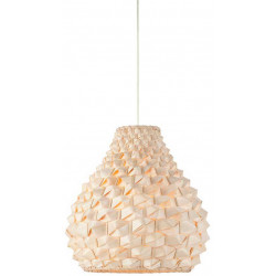 Suspension origami naturelle