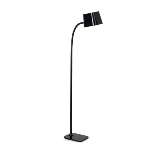 Lampadaire design flexible noir Faro