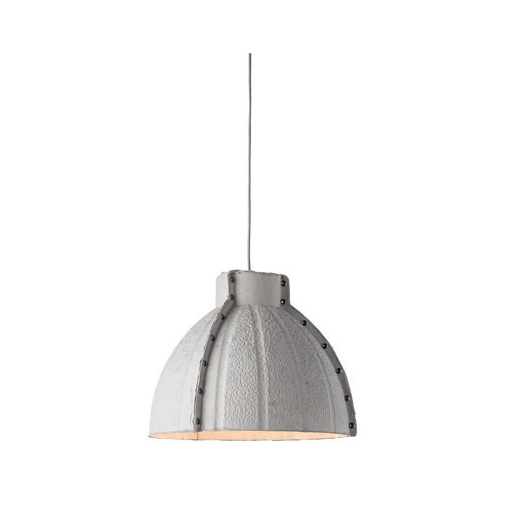 luminaire design gris en papier. Black Bedroom Furniture Sets. Home Design Ideas