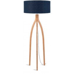 Lampadaire salon bleu