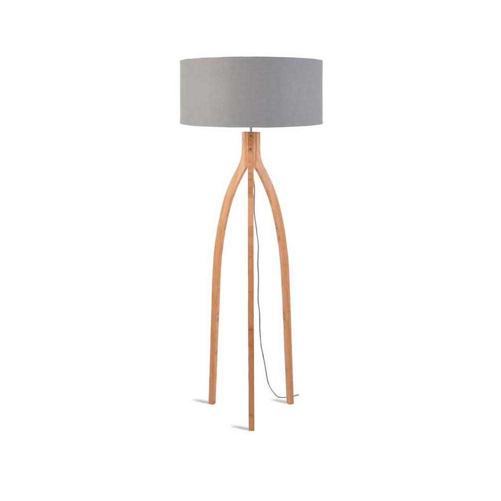 Lampadaire abat jour gris design - Abat jour pour lampadaire ...
