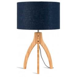 Lampe chevet bleue