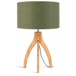 Lampe abat-jour vert