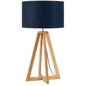 Lampe à poser bleue