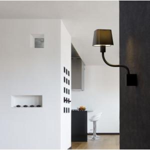 Applique flexible noire Faro