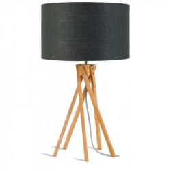 Lampe noire salon