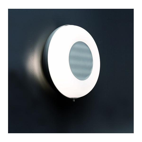 Applique extérieur ovale grise Faro