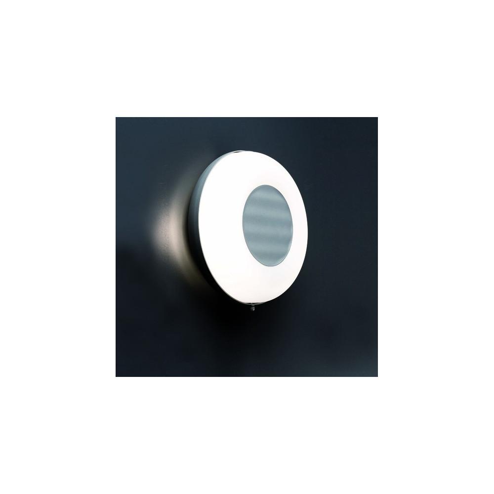 Applique ronde grise ext rieur luminaire faro for Applique exterieur faro