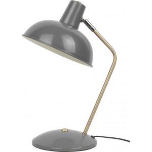 Lampe grise courbée
