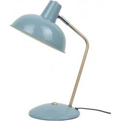 Lampe rétro métal bleu
