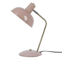 Lampe métal vieux rose