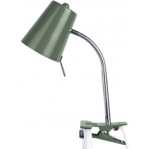 Lampe flexible de bureau verte