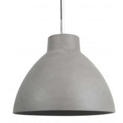 Luminaire en grès gris